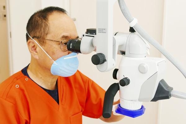 マイクロスコープ(顕微鏡)治療